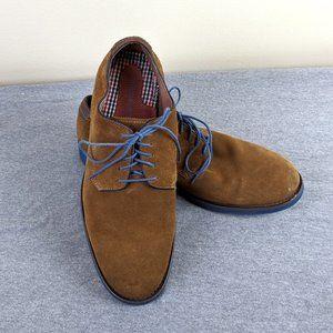 Johnston & Murphy suede oxford dress shoes 11M